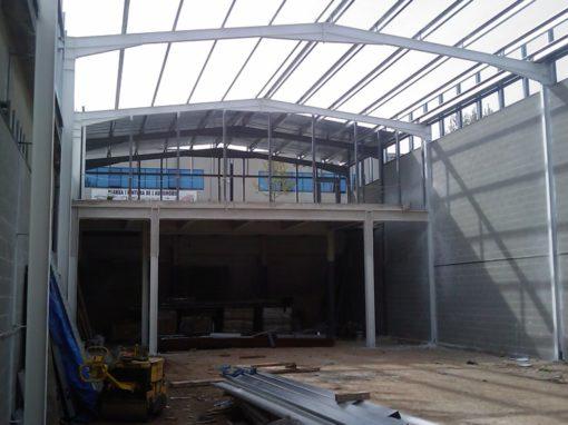 Projecte d'Obres de Construcció de Nau Industrial